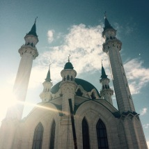 Mosque in Kazan.